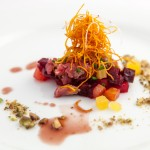 Jamie Stunt's lamb tartare
