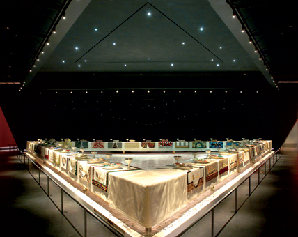 Judy Chicago's Dinner Party, brooklynmuseum.org