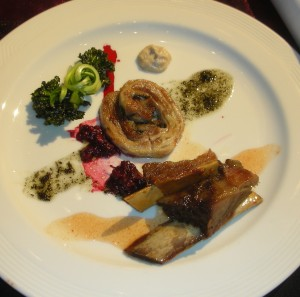 Silver - a trio of lamb from Chef Ricardo Rodriguez