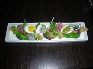 Charcut's sensational salad