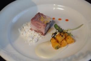 Blair Lebsack's dish took silver