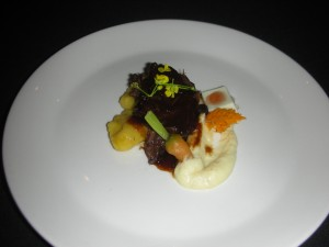 Leo Pantel's beef cheek won silver