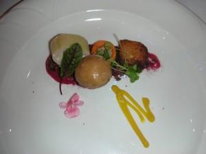 Chef Trittenbach's pork