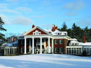 Langdon Hall in winter, thanks to Siren Communications