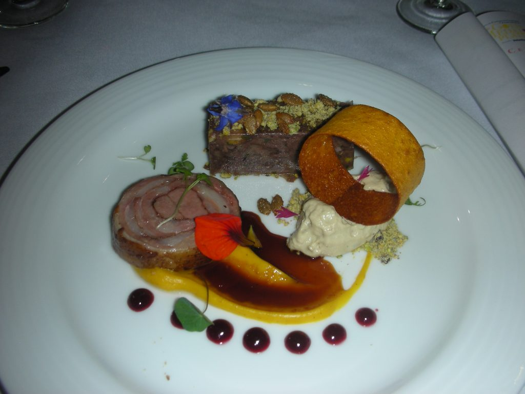 Awesome lamb from Chef Chris Chafe won bronze