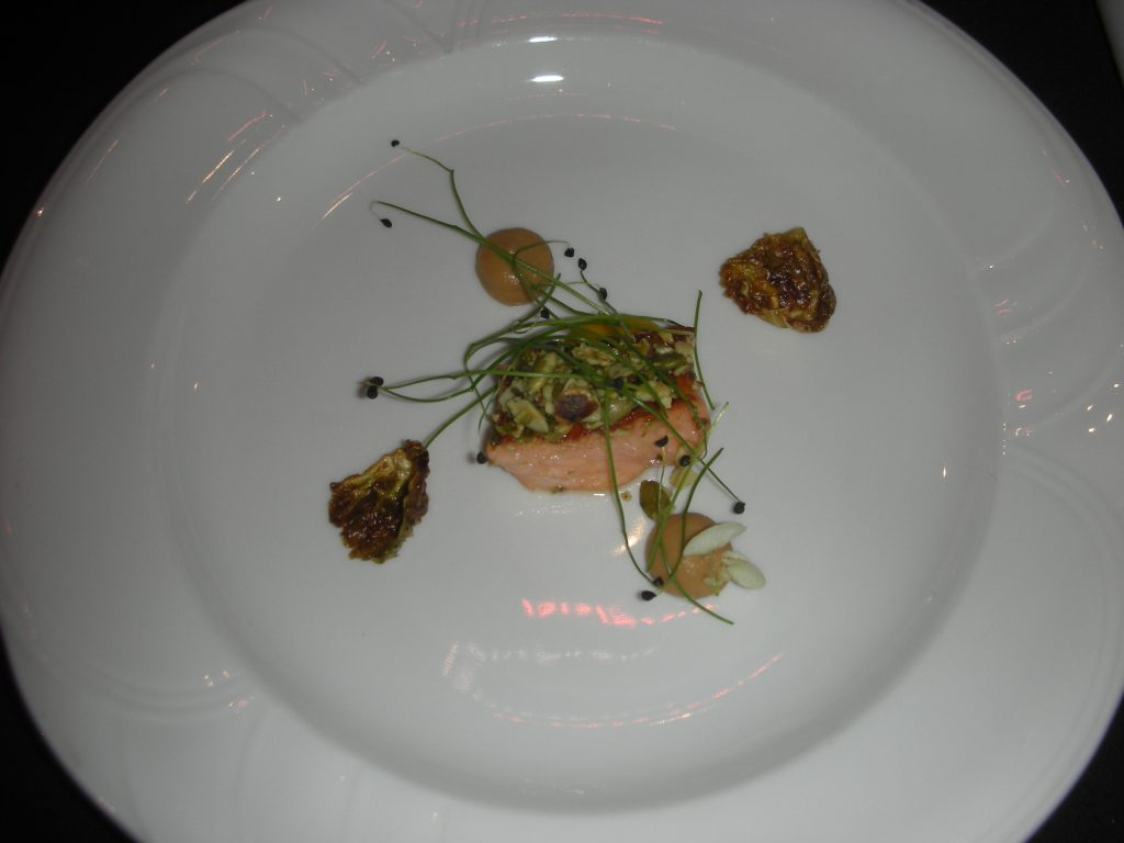 Chef Doreen Prei's perfect Icelandic salmon won silver