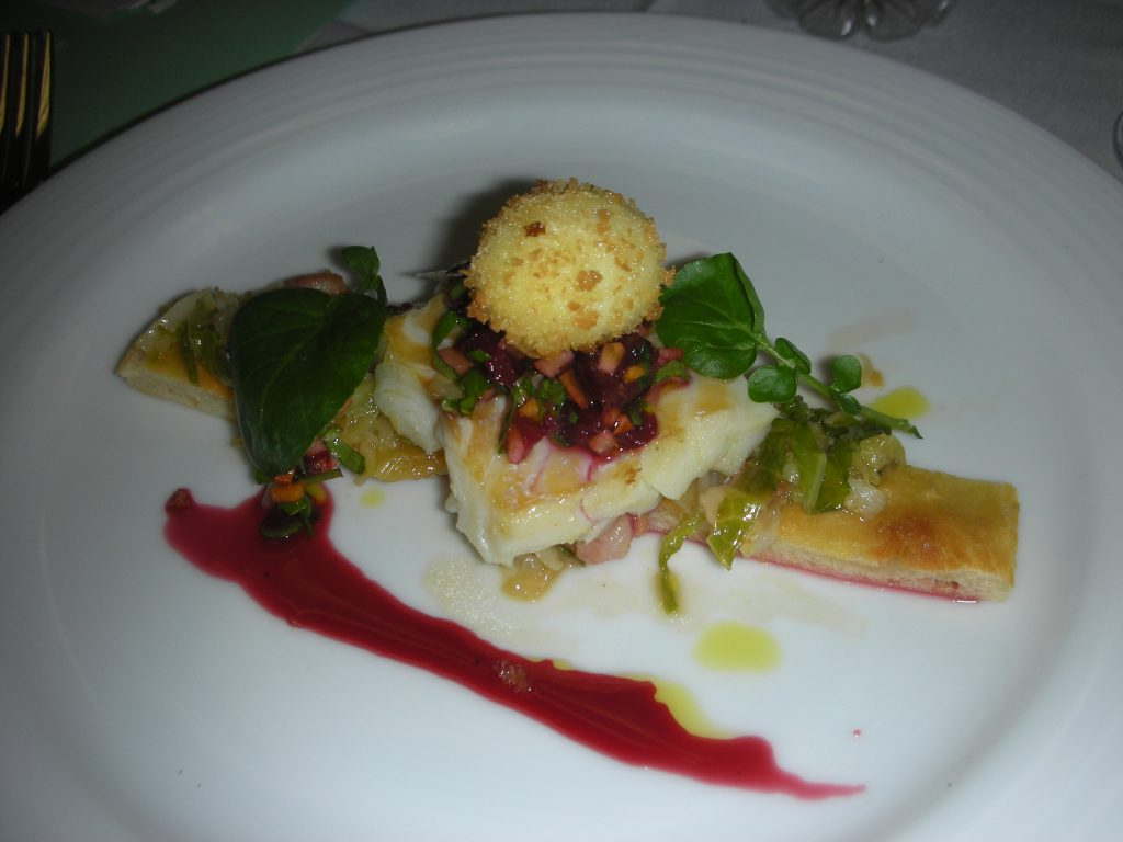 Chef Tabet's dish